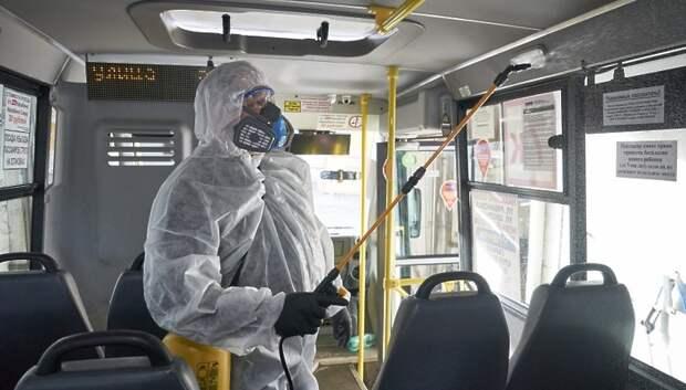 В Подмосковье ужесточили контроль за соблюдениемсанитарных нормв автобусах