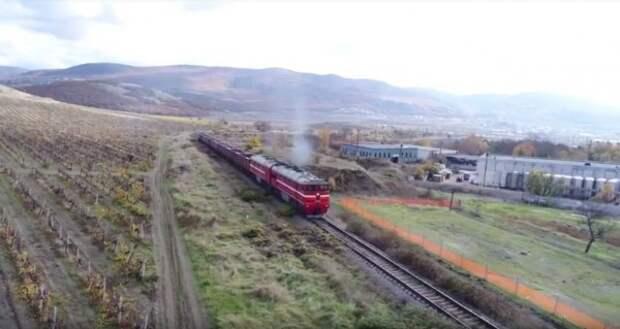 Стало известно, сколько пассажиров проехалось по крымской железной дороге