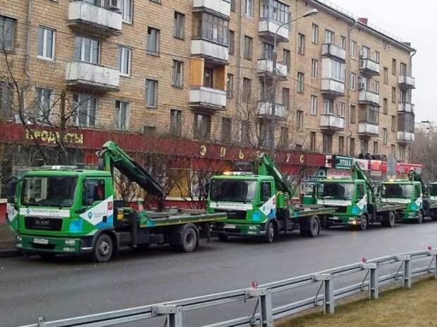 Эвакуация принесла Москве за год почти полтора миллиарда рублей