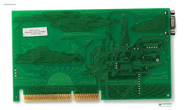 Пейзаж на микросхеме