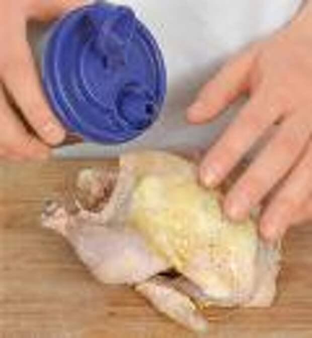 Цыплята с соусом из помидоров и грецких орехов. Шаг 3