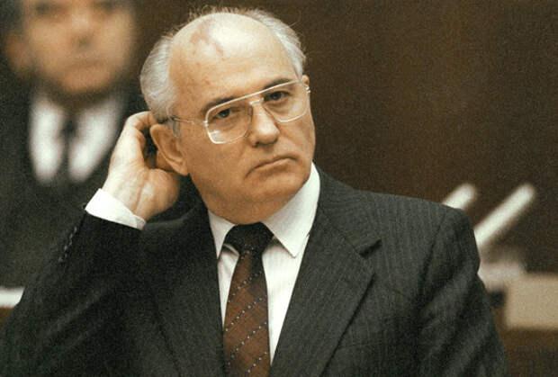 Михаил Горбачев, 1991 год
