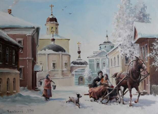 художник Владимир Краевский картины – 11