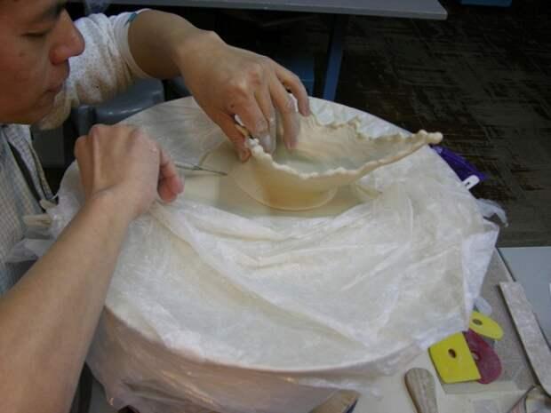 Создание тарелки