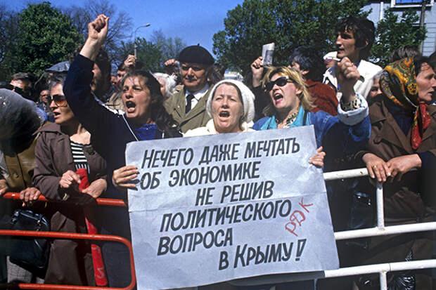 «Ельцину было плевать на Крым» Первый президент Крыма Юрий Мешков о жизни полуострова во время перестройки
