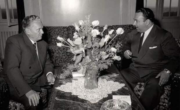 На фото: Иосип Броз Тито и Иосиф Григулевич