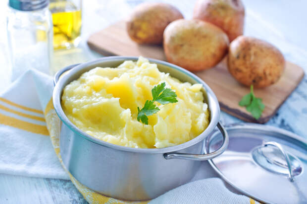 Как сделать идеальное картофельное пюре