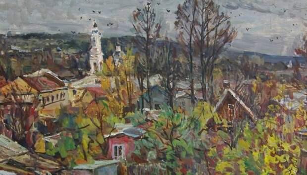 Выставка картин с пейзажами Тарусы откроется в выставочном зале 14 марта