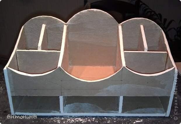 Мастер-класс Поделка изделие Декупаж Комодик из гипсокартона Мастер класс фото 55