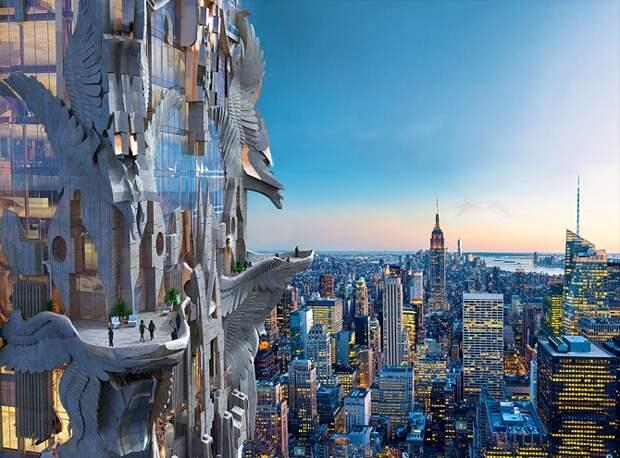 Фэнтези-небоскреб от Mark Foster