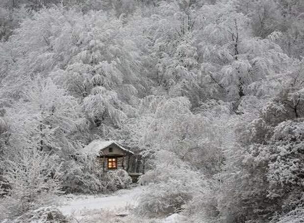 10 домов, идеально подходящих для холодной зимы