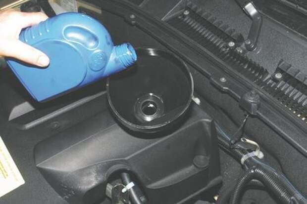 Chevrolet Niva: заменяем масло в двигателе и масляный фильтр