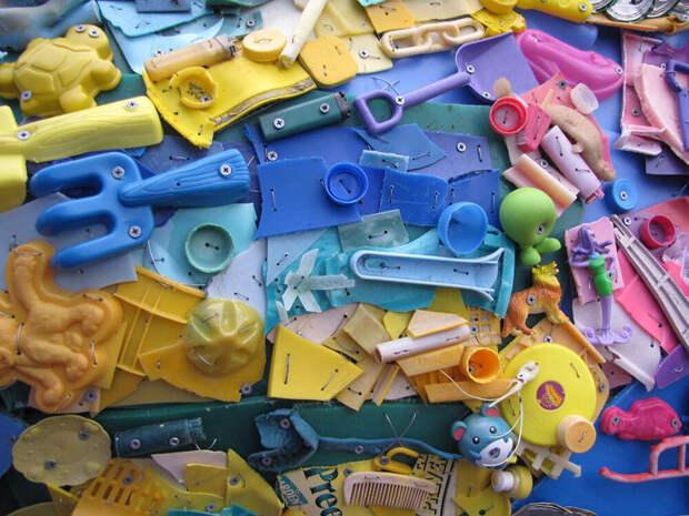 13 скульптур, сделанные из мусора