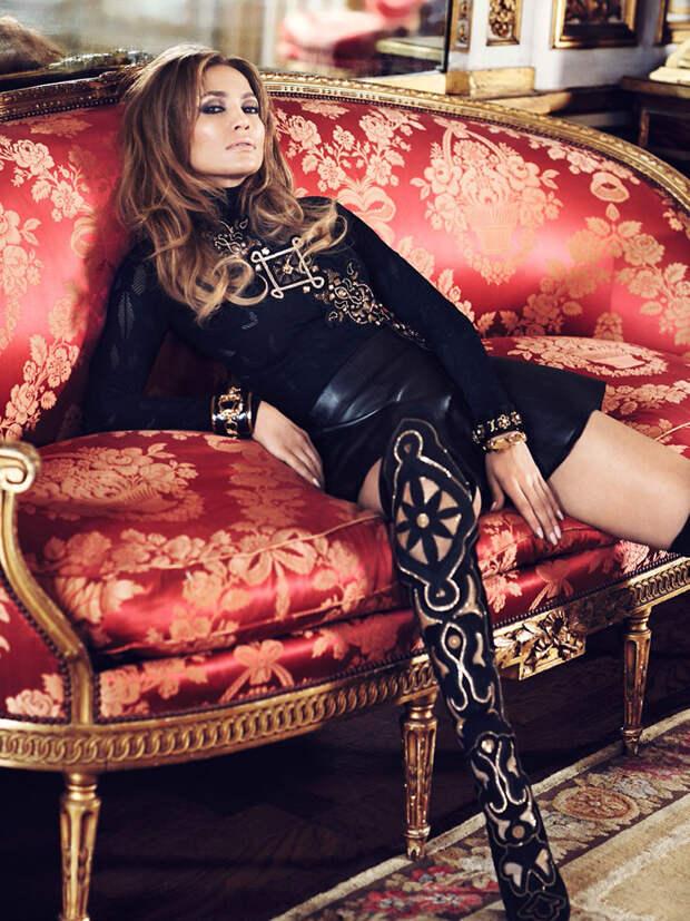 Дженнифер Лопес (Jennifer Lopez) в фотосессии Ткзема Йесте (Txema Yeste) для журнала ELLE UK (октябрь 2014), фото 4