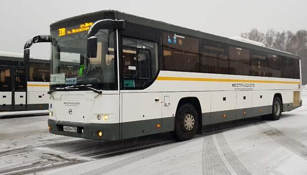 Автобусы «Мострансавто» работают в штатном режиме в непогоду