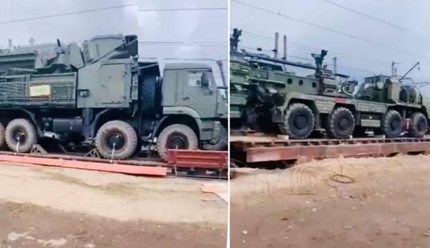 К границе с Украиной отправляются лучшие российские ЗРК – «Панцирь-С1» и С-400