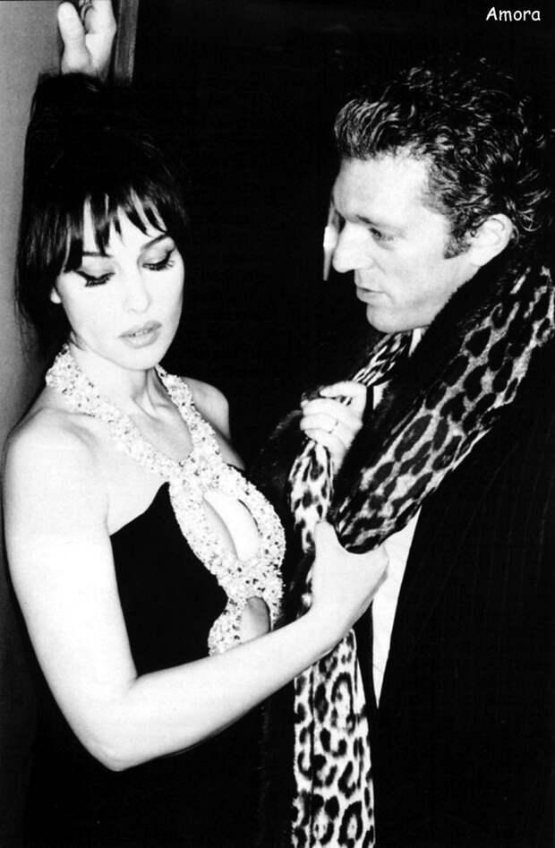 Моника Белуччи (Monica Bellucci) и Венсан Кассель (Vincent Cassel) в фотосессии Эллен фон Унверт (Ellen von Unwerth) для журнала Studio (2005), фото 2