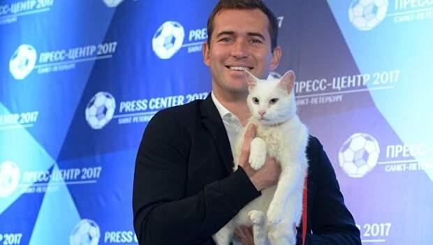 Оракул Ахилл: в Эрмитаже представили кота-предсказателя матчей Кубка конфедераций