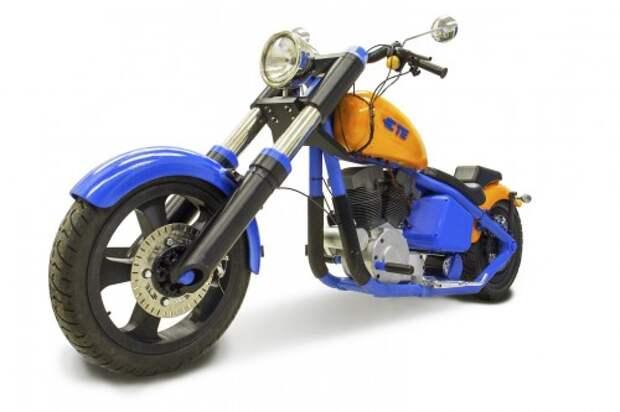 Первый в мире напечатанный на 3D-принтере мотоцикл