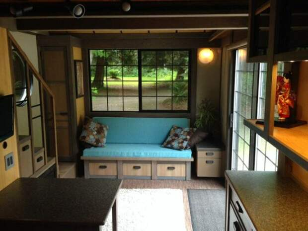 Идеальная дача: крошечный домик, в котором есть всё