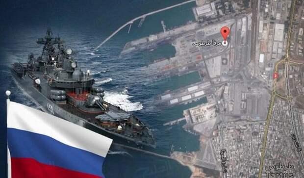 Российский флот вытесняет боевые корабли США из Средиземного моря