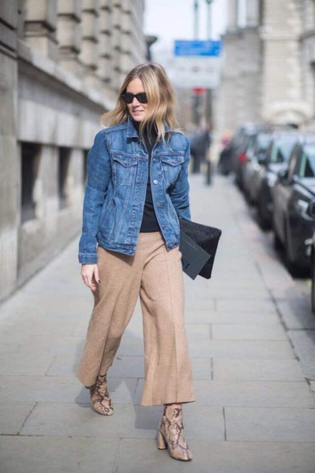 Модные джинсовые куртки в 2019-м
