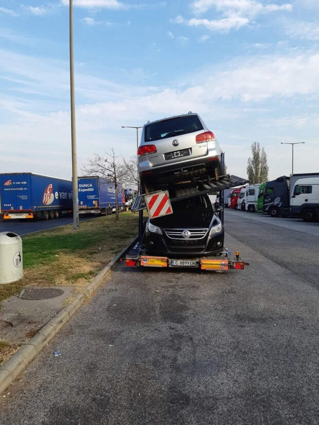 Забавные фото о грузовиках и дальнобойщиках