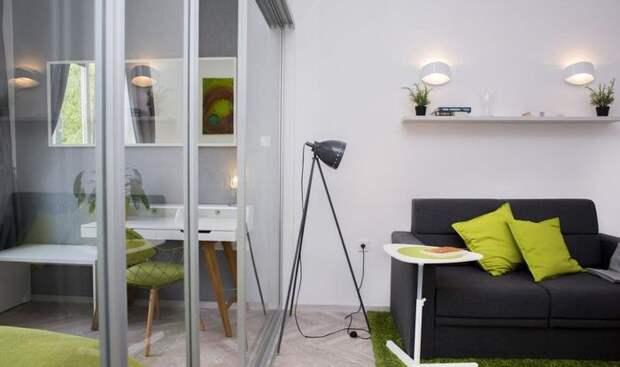 31 квадратный метр комфорта и стиля