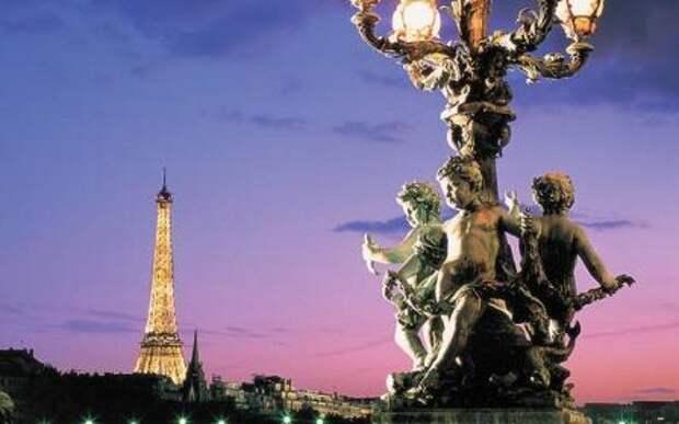 Сияние города света. Уличное освещение Парижа