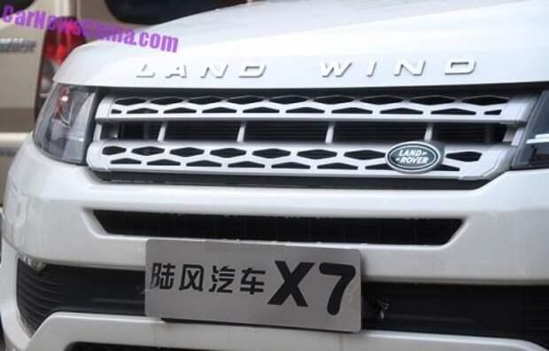 Китайский клон Evoque стал еще ближе к Land Rover