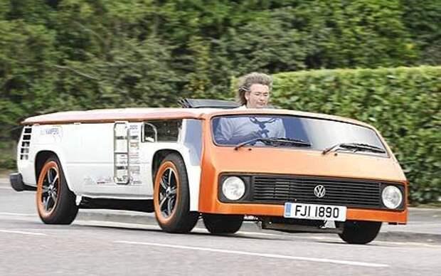 Cамый низкий в мире фургон VW