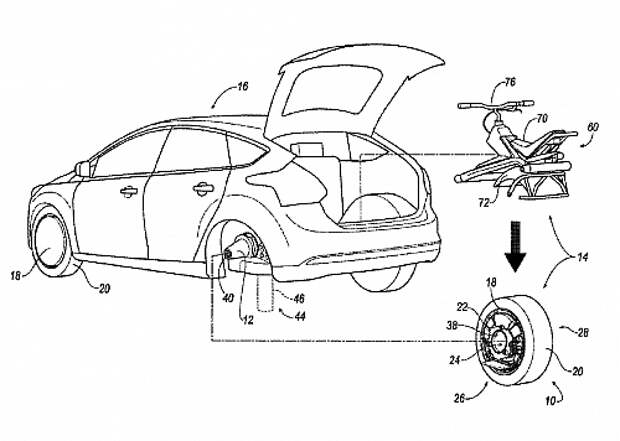 Ford unicycle