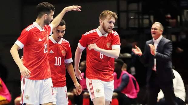 Сборная России по мини-футболу победила Францию в матче квалификации чемпионата Европы