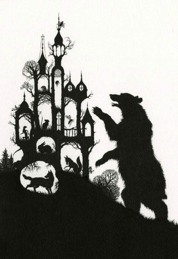 Иллюстрации к русским сказкам от таиландского художника