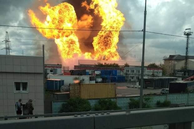 При пожаре в районе ТЭЦ в Мытищах пострадали 11 человек