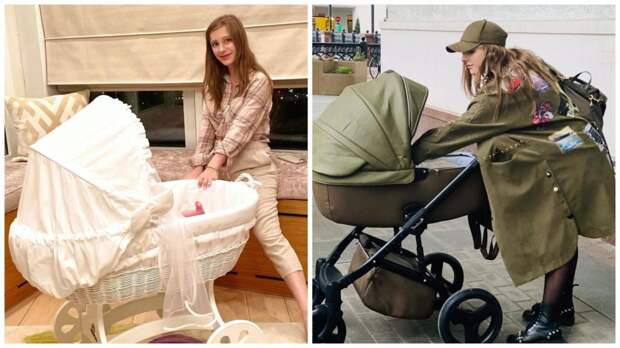 «Пополнение в автопарке»: Лиза Арзамасова подбирает коляски в тон одежде
