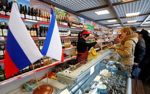 Блокада Крыма: чем заменяют украинские продукты