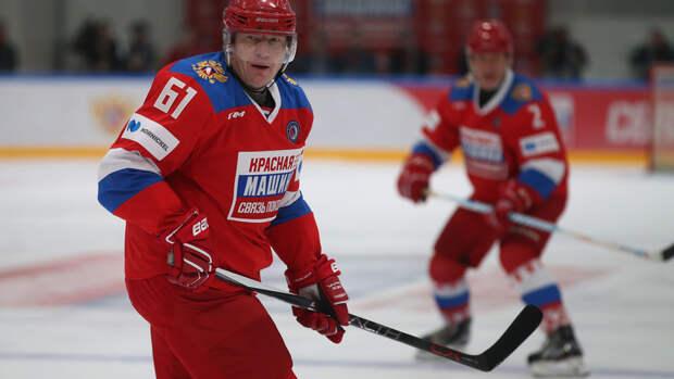 Потанин: хоккеистам-любителям важно встречаться с профессионалами