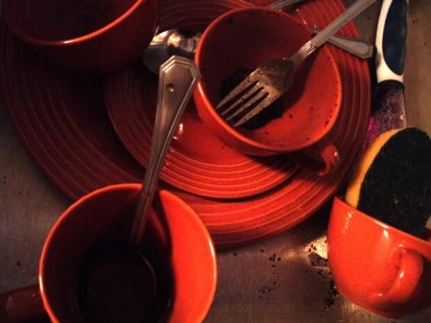 Как поддерживать порядок в доме? Мойте посуду сразу после еды
