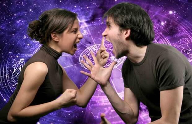 Самое неблагоприятное сочетание пар по гороскопу