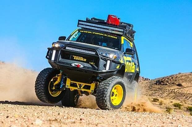 Toyota Tonka 4Runner: серьезная игрушка для великовозрастных мальчиков (ФОТО)