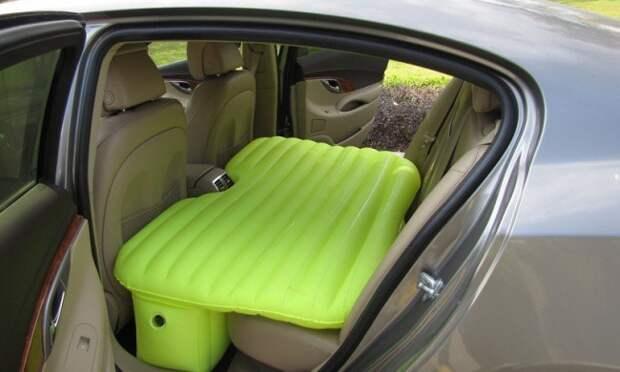 Надувной матрас на заднем сиденье жизнь, изобретения