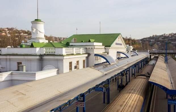 Железнодорожный вокзал Севастополя реконструируют