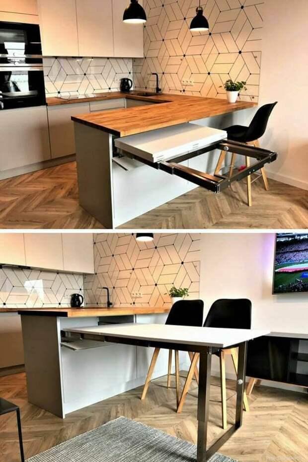 Практичная и необычная угловая мебель сэкономит и подарит больше места