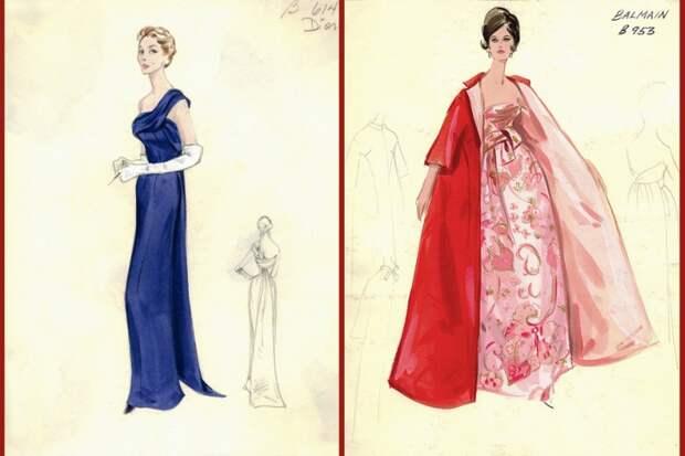 Вечерние платья от Bergdorf Goodman (трафик)