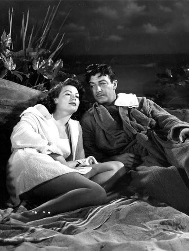"Ава Гарднер и Роберт Тейлор в фильме ""Подкуп"". 1947 год."