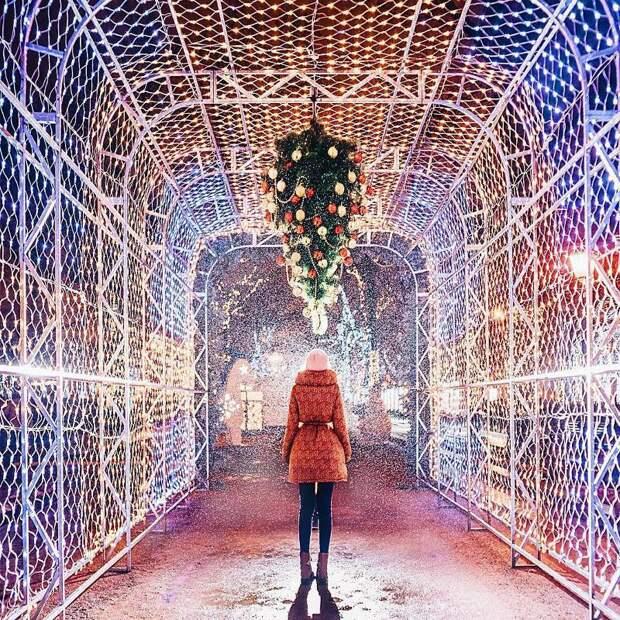 Сказочная новогодняя Москва в фотографиях Кристины Макеевой