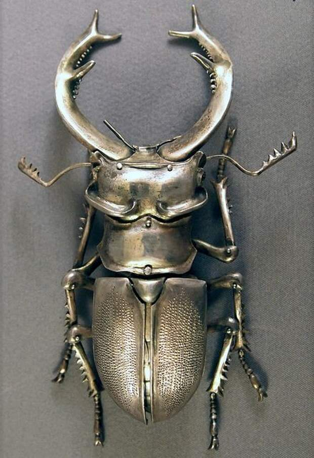 Antique silver beetle brooch from rubylane.com i love this site