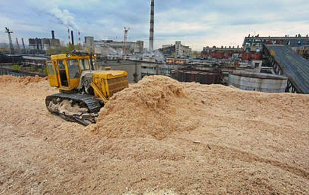 В Красноярском крае открылся завод по производству пеллет