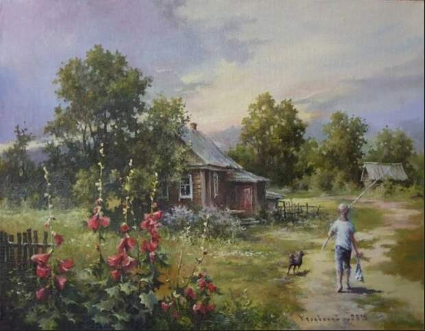 художник Владимир Краевский картины – 26